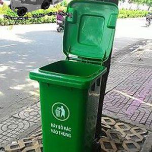 Thùng rác công cộng 120 lit