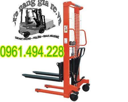 Xe nâng tay cao 1 tấn nâng 1m6