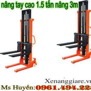 Xe nâng tay cao 1.5 tấn tại Hà Nội