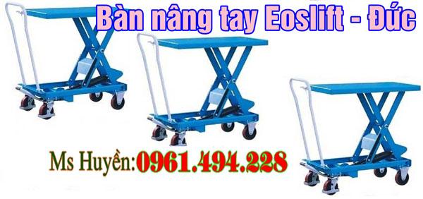 bàn nâng tay 750 kg