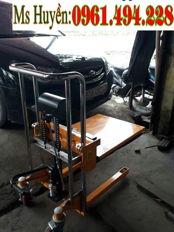 Xe nâng tay cao 400 kg 850 mm