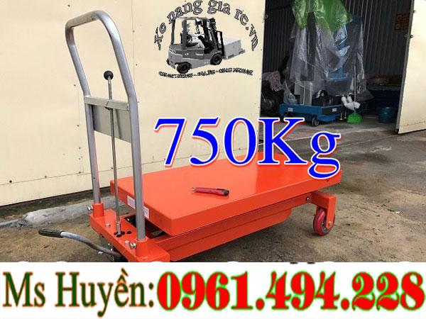 Bàn nâng thủy lực 750 kg 1