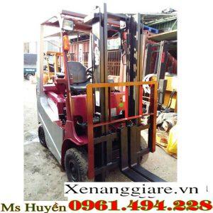 xe nâng điện cũ ngồi lái 1.5 tấn