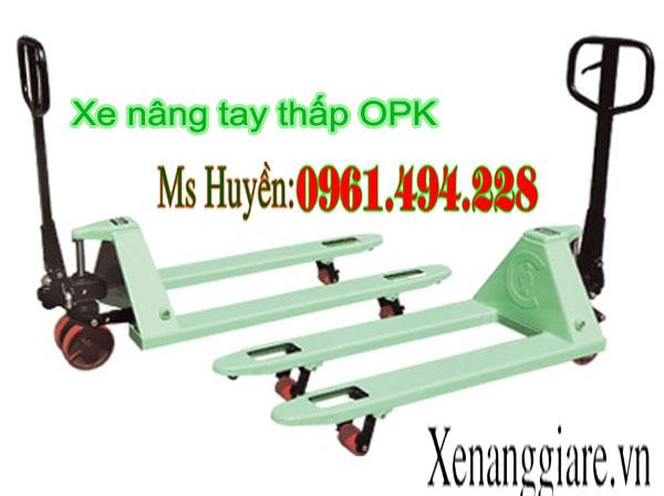 xe nâng tay thấp OPK