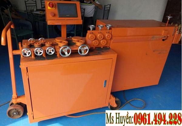 Máy uốn cắt đai sắt tự động