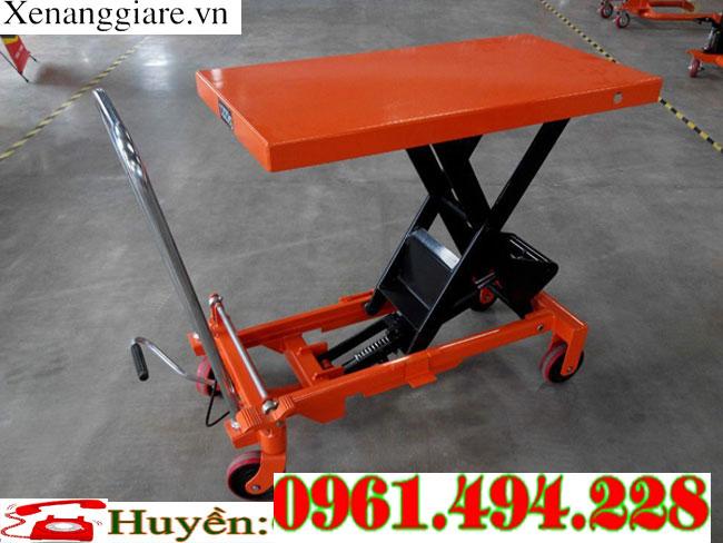 bàn nâng tay 300 kg nâng 900mm