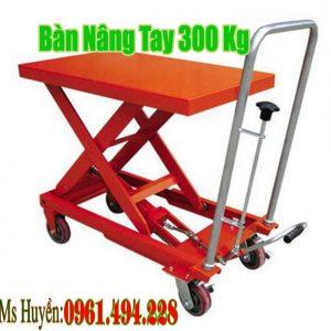Bàn nâng tay 300 kg nâng 900 mm