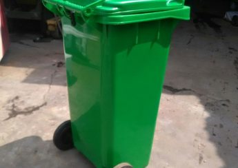 thùng rác công cộng tại quận 6