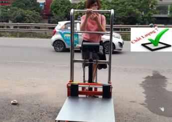 xe nâng tay cao mini 400 kg tại Hà Nội