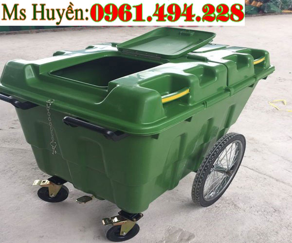 thùng rác công cộng 400 lit
