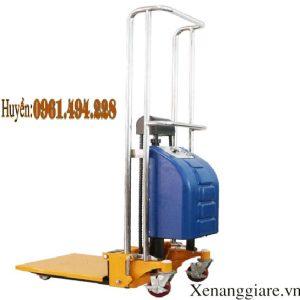 xe nâng bán tự động mini 400 kg