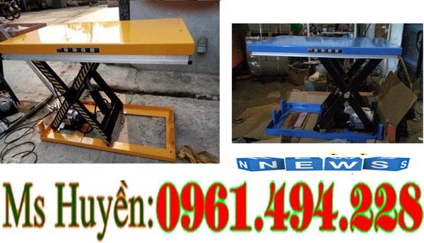 bàn nâng điện 2 tấn nâng 1m3