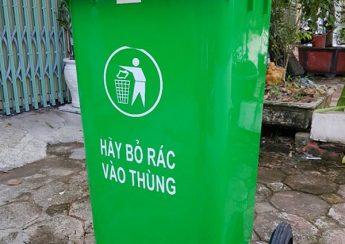 Thùng rác công cộng tại Nhà Bè 1