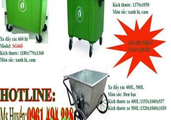 Thùng rác công cộng tại Thanh Hóa