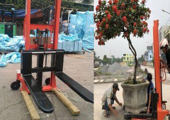 xe nâng tay cao 1 tấn 2 tấn tại Bắc Giang