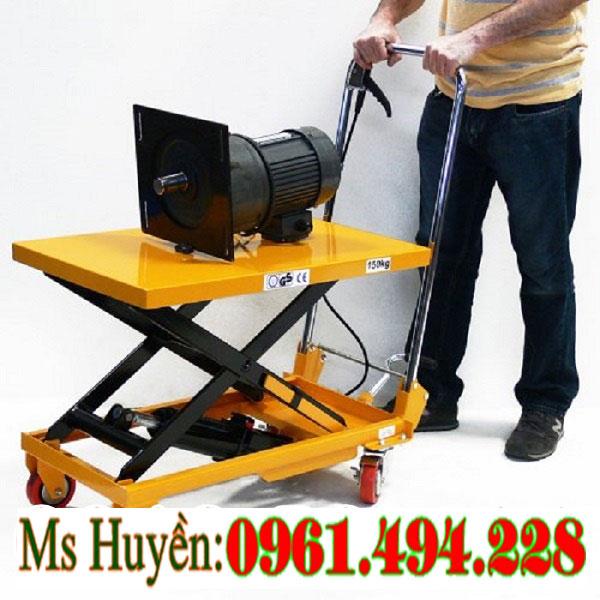 bàn nâng thủy lực 150 kg WP150