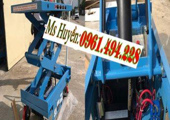 Địa chỉ bán bàn nâng điện 350 kg 750 kg